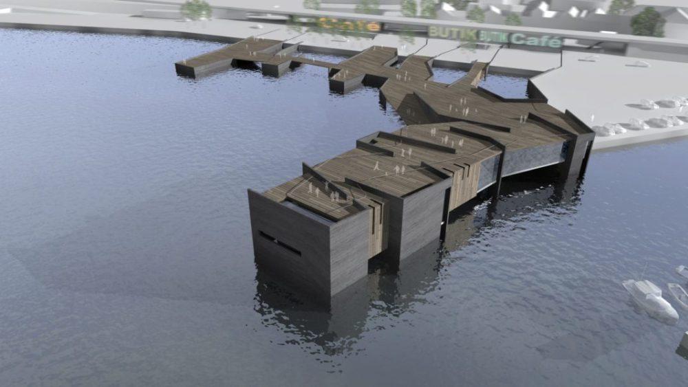 Bath in Struer harbour